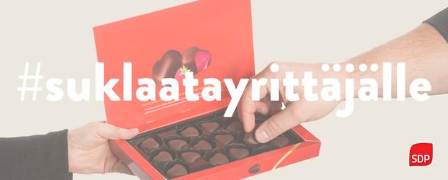 suklaata yrittäjille